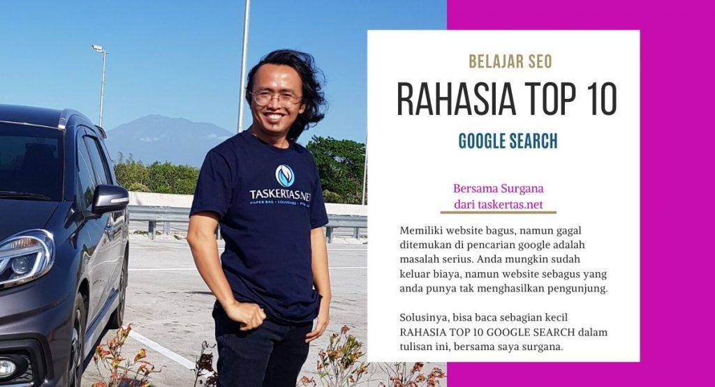 Cara top 10 google